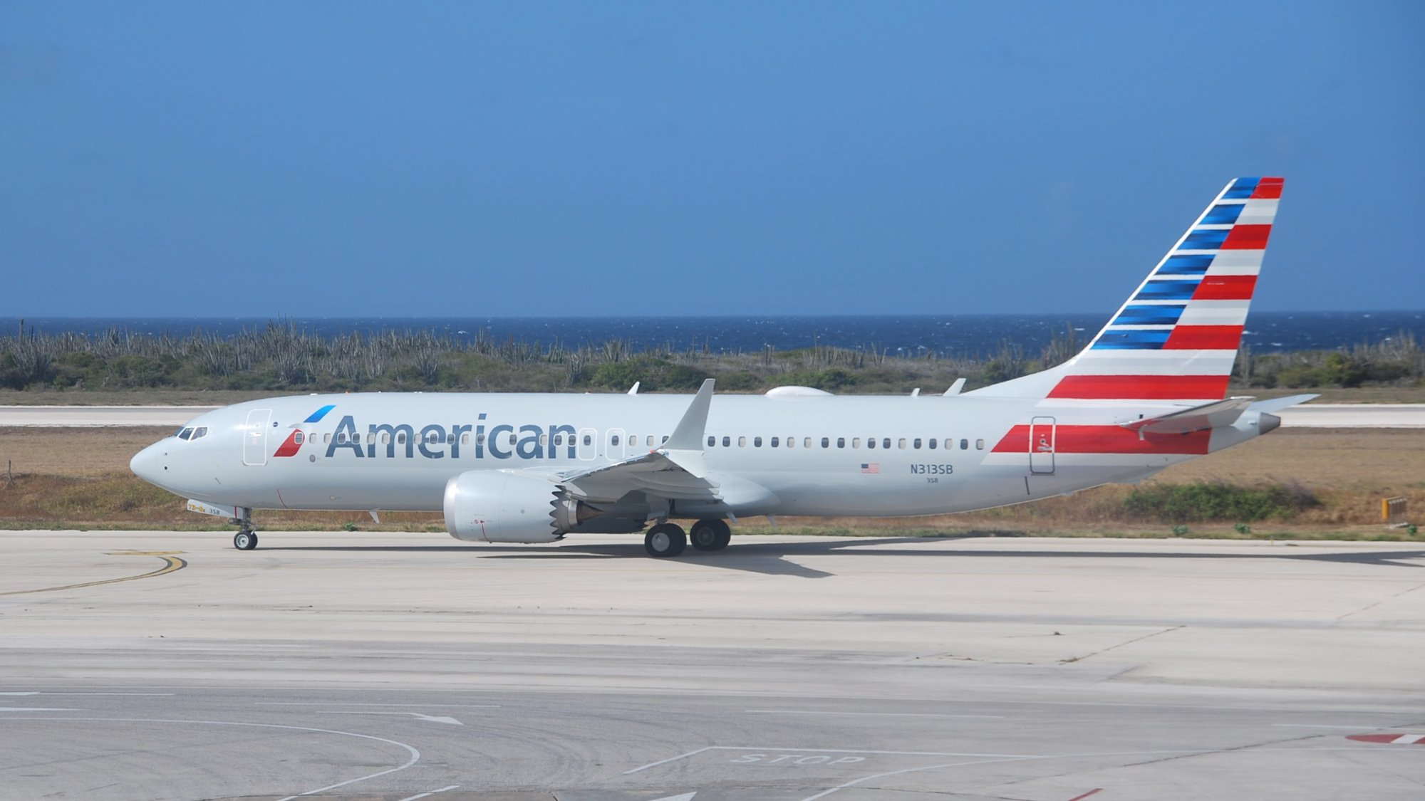 American Airlines Boeing 737-Max-8