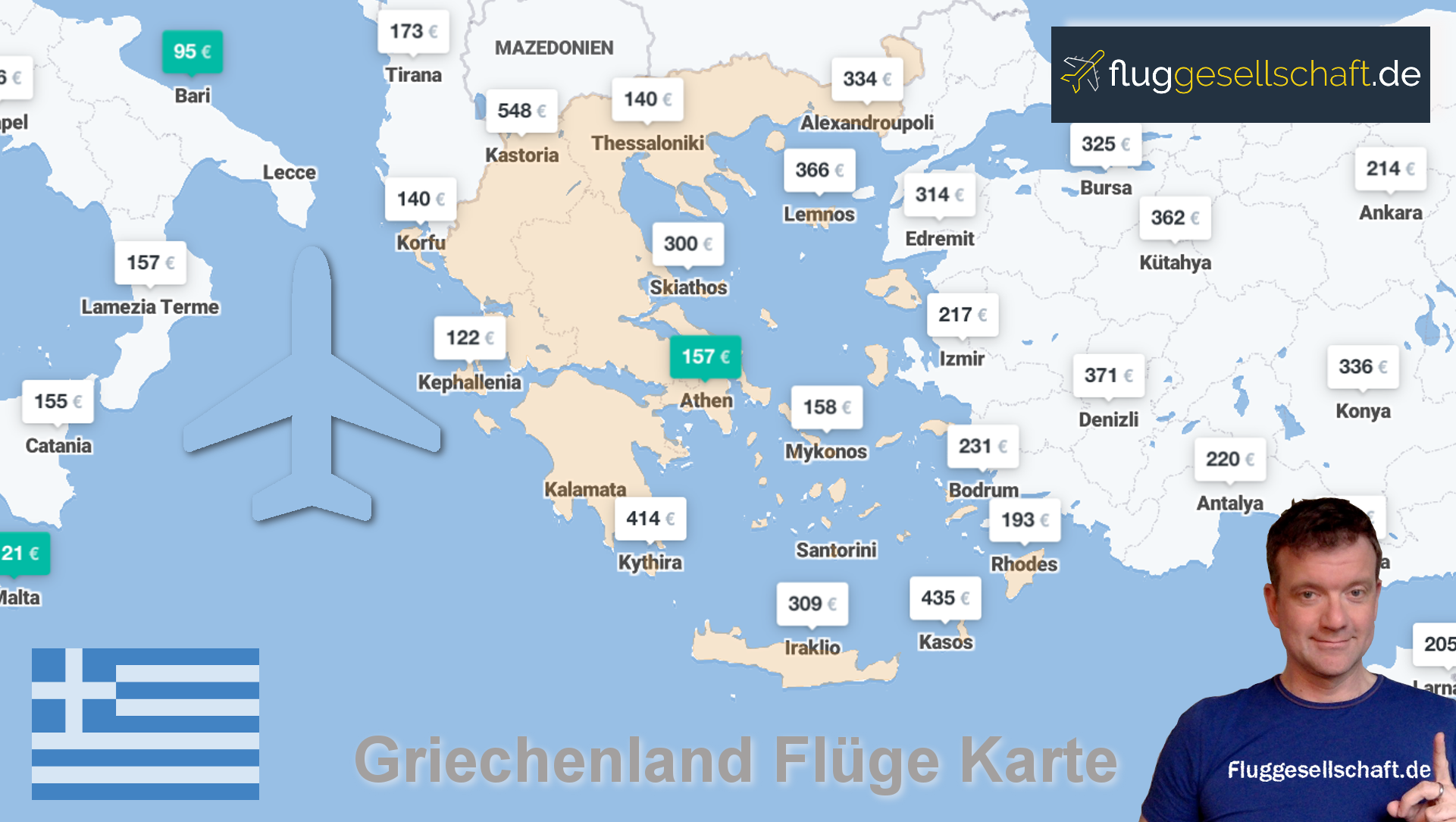 Flüge Flughafen Karpathos - Fluggesellschaft.de